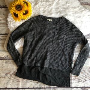 Madewell sweater blouse
